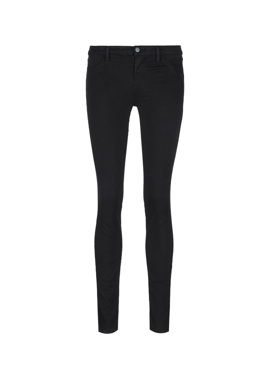 Luxe Sateen super skinny jeans by J Brand