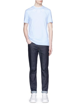 Figure View - Click To Enlarge - Givenchy - Star print cotton slub T-shirt