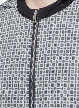 Detail View - Click To Enlarge - Dolce & Gabbana - Reversible monkey bandana print blouson jacket