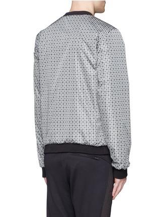 Back View - Click To Enlarge - Dolce & Gabbana - Reversible monkey bandana print blouson jacket