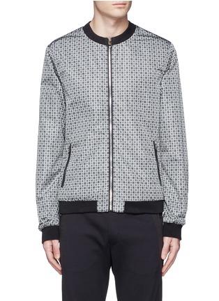 Main View - Click To Enlarge - Dolce & Gabbana - Reversible monkey bandana print blouson jacket