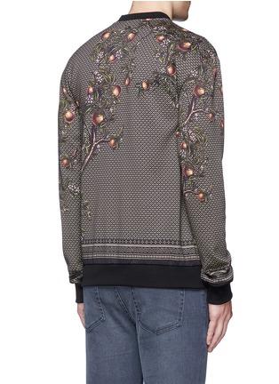 Back View - Click To Enlarge - Dolce & Gabbana - Peacock print sweatshirt