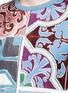 Detail View - Click To Enlarge - - - Mosaic print T-shirt