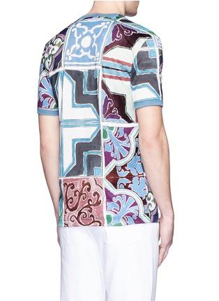 Back View - Click To Enlarge - - - Mosaic print T-shirt