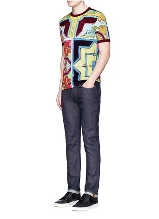 Figure View - Click To Enlarge - Dolce & Gabbana - Mosaic print T-shirt