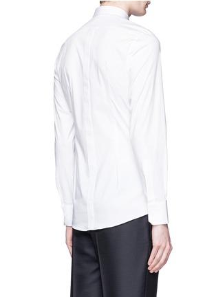Back View - Click To Enlarge - Dolce & Gabbana - 'Gold' stretch poplin shirt
