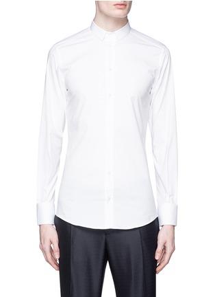 Main View - Click To Enlarge - Dolce & Gabbana - 'Gold' stretch poplin shirt
