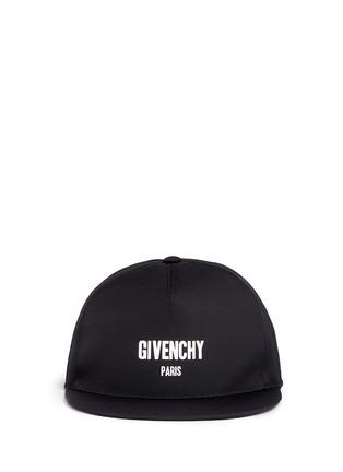 Main View - Click To Enlarge - GIVENCHY - Logo print snapback cap