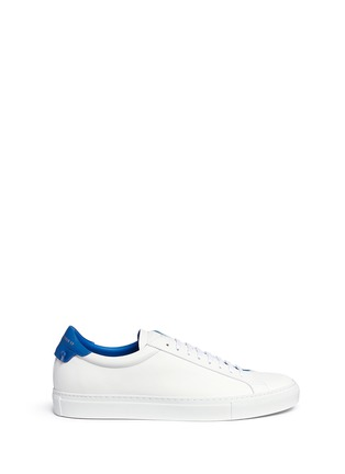 Main View - Click To Enlarge - Givenchy - 'Urban Street' knot collar leather sneakers