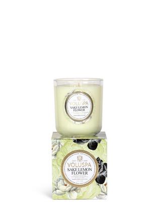 Figure View - Click To Enlarge - VOLUSPA - Maison Jardin Sake Lemon Flower scented candle 340g