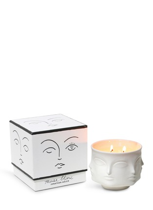Figure View - Click To Enlarge - JONATHAN ADLER - Muse Blanc Ceramic Candle