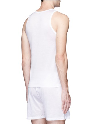 Back View - Click To Enlarge - ZIMMERLI - 252 Royal Classic' jersey tank top