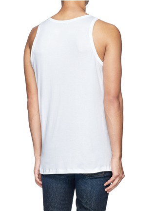Back View - Click To Enlarge - Zimmerli - '286 Sea Island' tank top