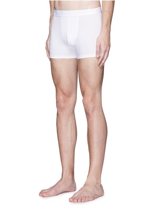 Figure View - Click To Enlarge - Zimmerli - '700 Pureness' jersey trunks