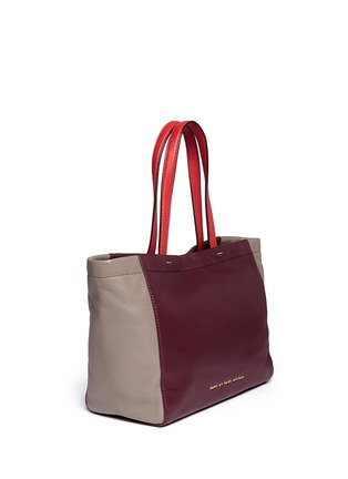 Detail View - Click To Enlarge - Marc by Marc Jacobs - 'What's the T colour-block leather tote