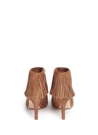Back View - Click To Enlarge - Sam Edelman - 'Kandice' fringe suede ankle boots