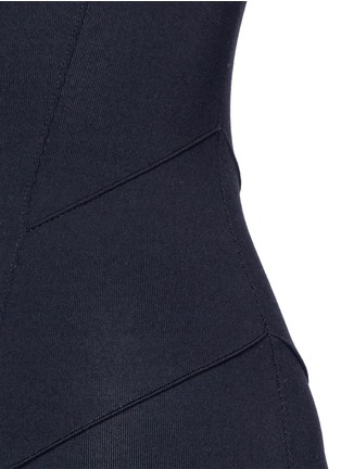 Detail View - Click To Enlarge - LIVE THE PROCESS - Jersey camisole corset unitard jumpsuit