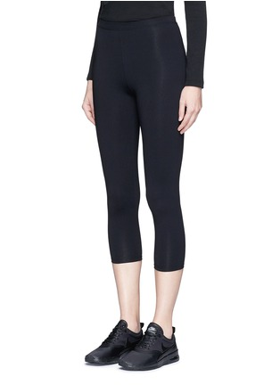 Front View - Click To Enlarge - LIVE THE PROCESS - 7/8 cropped Performance Luxury™ leggings