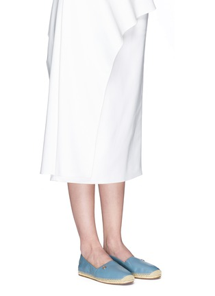 Figure View - Click To Enlarge - Michael Kors - 'Kendrick' leather espadrille slip-ons