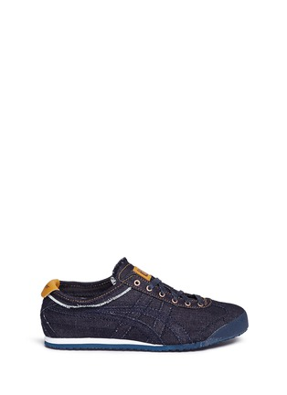Main View - Click To Enlarge - Onitsuka Tiger - 'Mexico 66' unisex denim sneakers