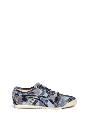 Main View - Click To Enlarge - ONITSUKA TIGER - 'Mexico 66' unisex denim patchwork sneakers