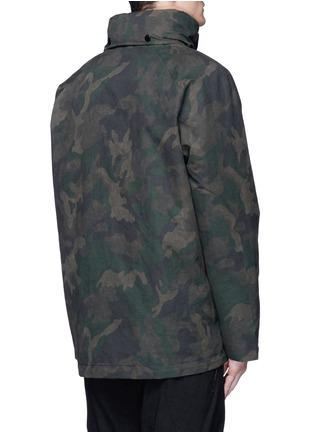 Back View - Click To Enlarge - rag & bone - 'Ezra' camouflage print detachable liner parka