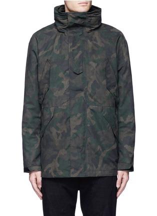 Main View - Click To Enlarge - rag & bone - 'Ezra' camouflage print detachable liner parka
