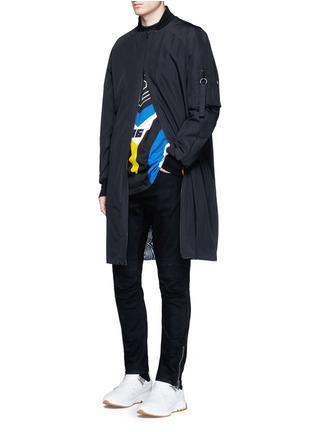 Figure View - Click To Enlarge - rag & bone - 'Optical Moto' print sweatshirt