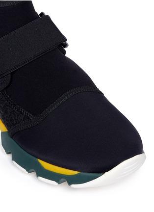 Detail View - Click To Enlarge - MARNI - Neoprene high top sneaker booties