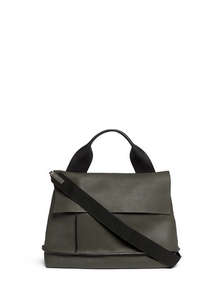 Main View - Click To Enlarge - Marni - 'City Pod' pebbled leather bag