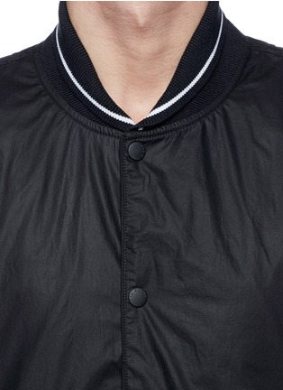 Detail View - Click To Enlarge - rag & bone - 'Tracker' cotton twill bomber jacket