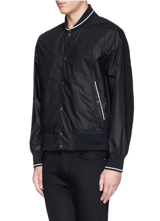 Front View - Click To Enlarge - rag & bone - 'Tracker' cotton twill bomber jacket