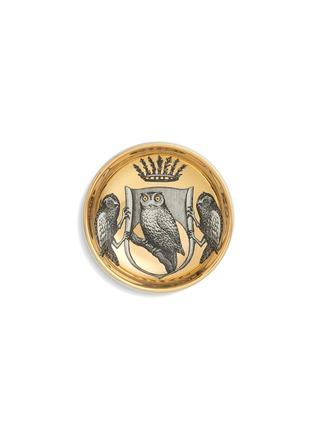 Main View - Click To Enlarge - Fornasetti - Stemma di Civette round ashtray