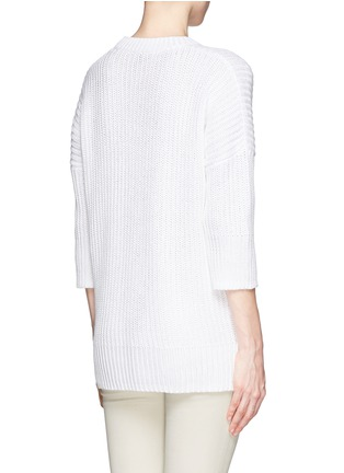 Back View - Click To Enlarge - Theory - Hesterly' chunky knit sweater