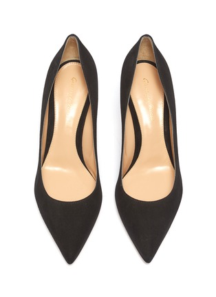Detail View - Click To Enlarge - GIANVITO ROSSI - 'Gianvito 70' suede pumps