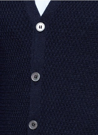 Detail View - Click To Enlarge - Incotex - Flexwool cardigan