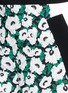 Detail View - Click To Enlarge - Stella McCartney - 'Kristelle' poppy print colourblock shorts