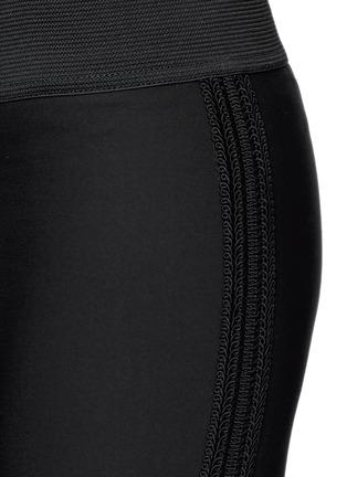 Detail View - Click To Enlarge - Stella McCartney - Cotton blend crepe leggings