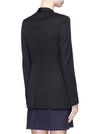 Back View - Click To Enlarge - Stella McCartney - 'Isla' shawl lapel wool blazer
