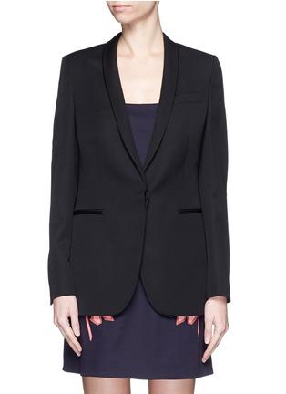Main View - Click To Enlarge - Stella McCartney - 'Isla' shawl lapel wool blazer