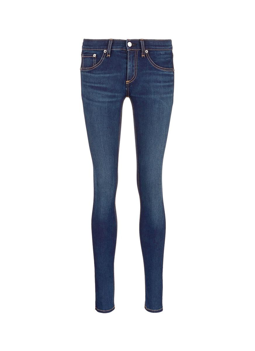 Mid rise skinny jeans by Rag & Bone/Jean