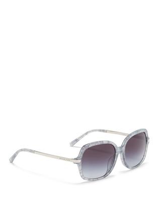 Figure View - Click To Enlarge - Michael Kors - 'Adrianna II' tortoiseshell acetate square sunglasses