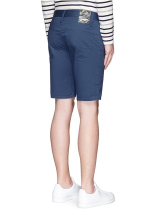 Back View - Click To Enlarge - DENHAM - 'Razor' cotton shorts