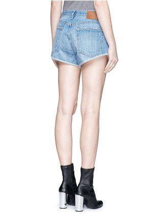 Back View - Click To Enlarge - RAG & BONE/JEAN - 'Marilyn Fly' denim shorts