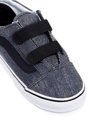 Detail View - Click To Enlarge - Vans - 'Acid Denim Old Skool V' toddler sneakers