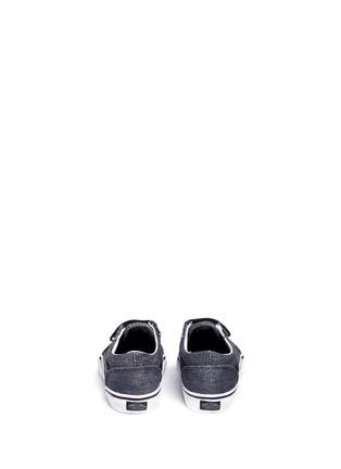Back View - Click To Enlarge - Vans - 'Acid Denim Old Skool V' toddler sneakers
