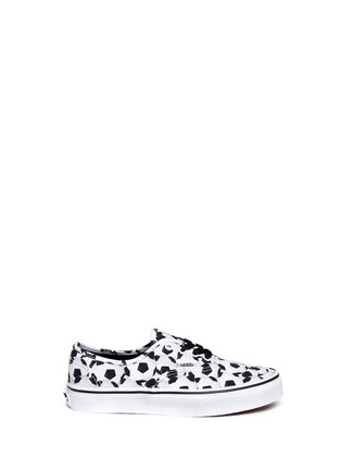 Main View - Click To Enlarge - Vans - 'Sports Authentic' soccer print kids sneakers