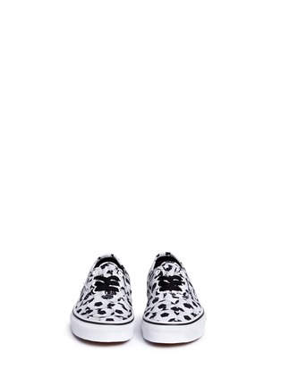 Figure View - Click To Enlarge - Vans - 'Sports Authentic' soccer print kids sneakers