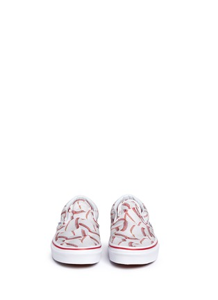 Figure View - Click To Enlarge - Vans - 'Sports Classic' baseball print kids slip-ons