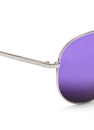 Detail View - Click To Enlarge - MICHAEL KORS - 'Kendall I' metal aviator mirror sunglasses